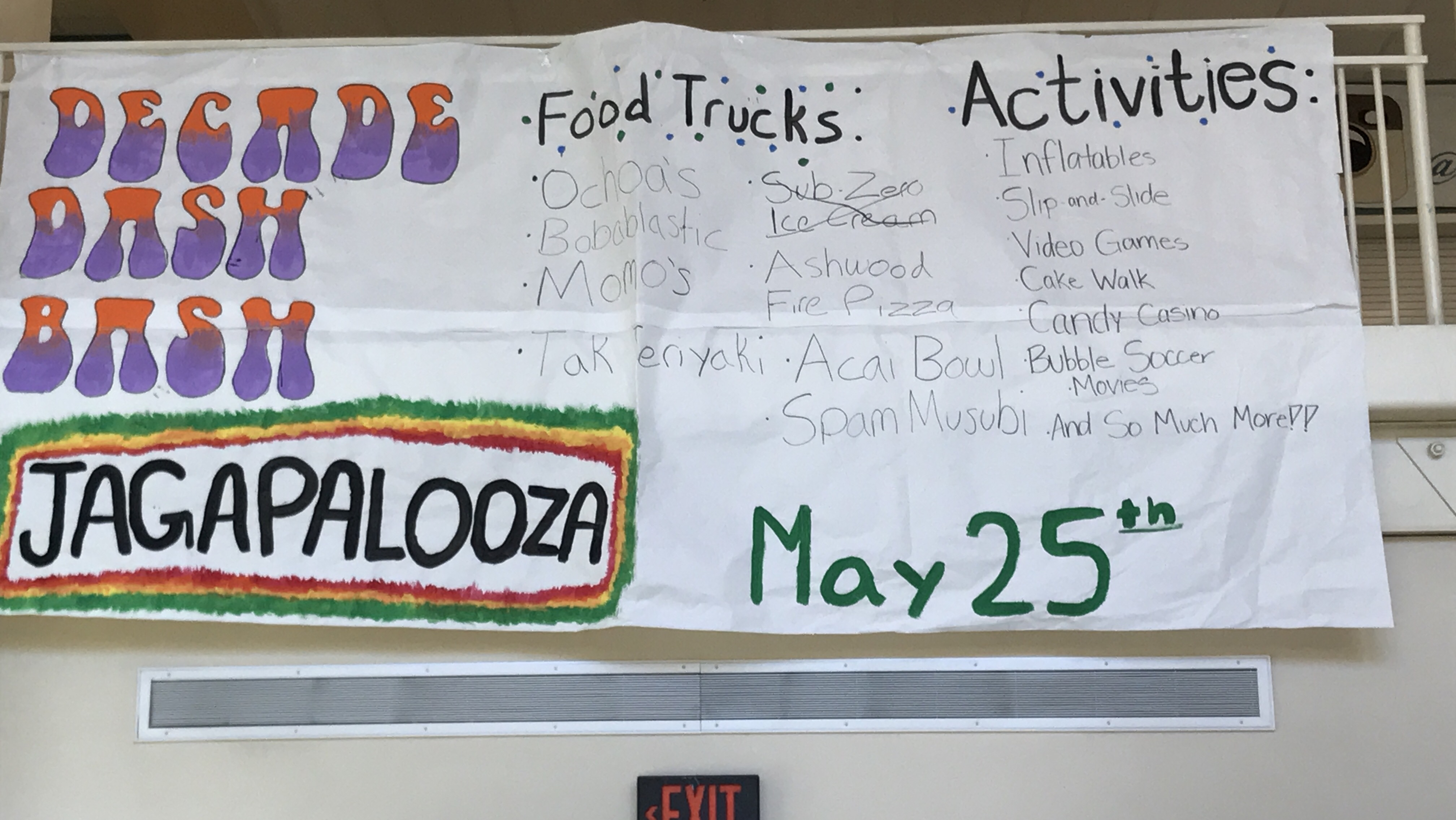 Jagapalooza Food Trucks