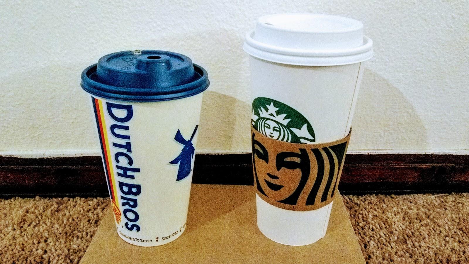 Dutch vs Starbucks